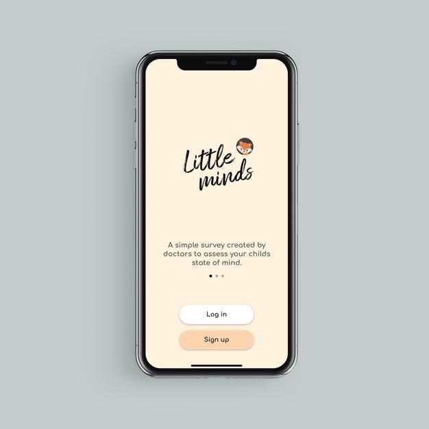 Little Minds Mobile App.