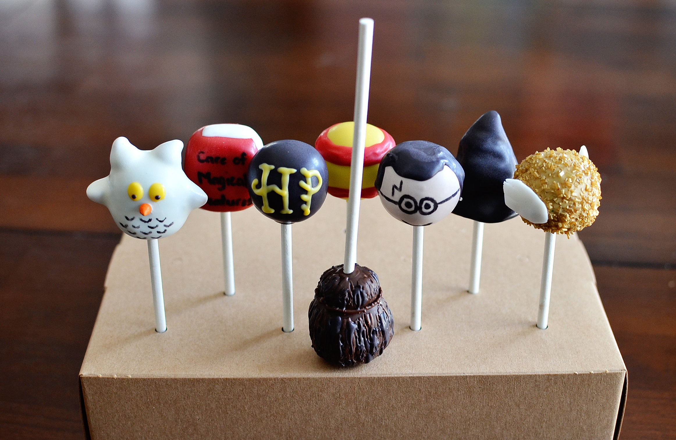 Cake Pops Harry Potter