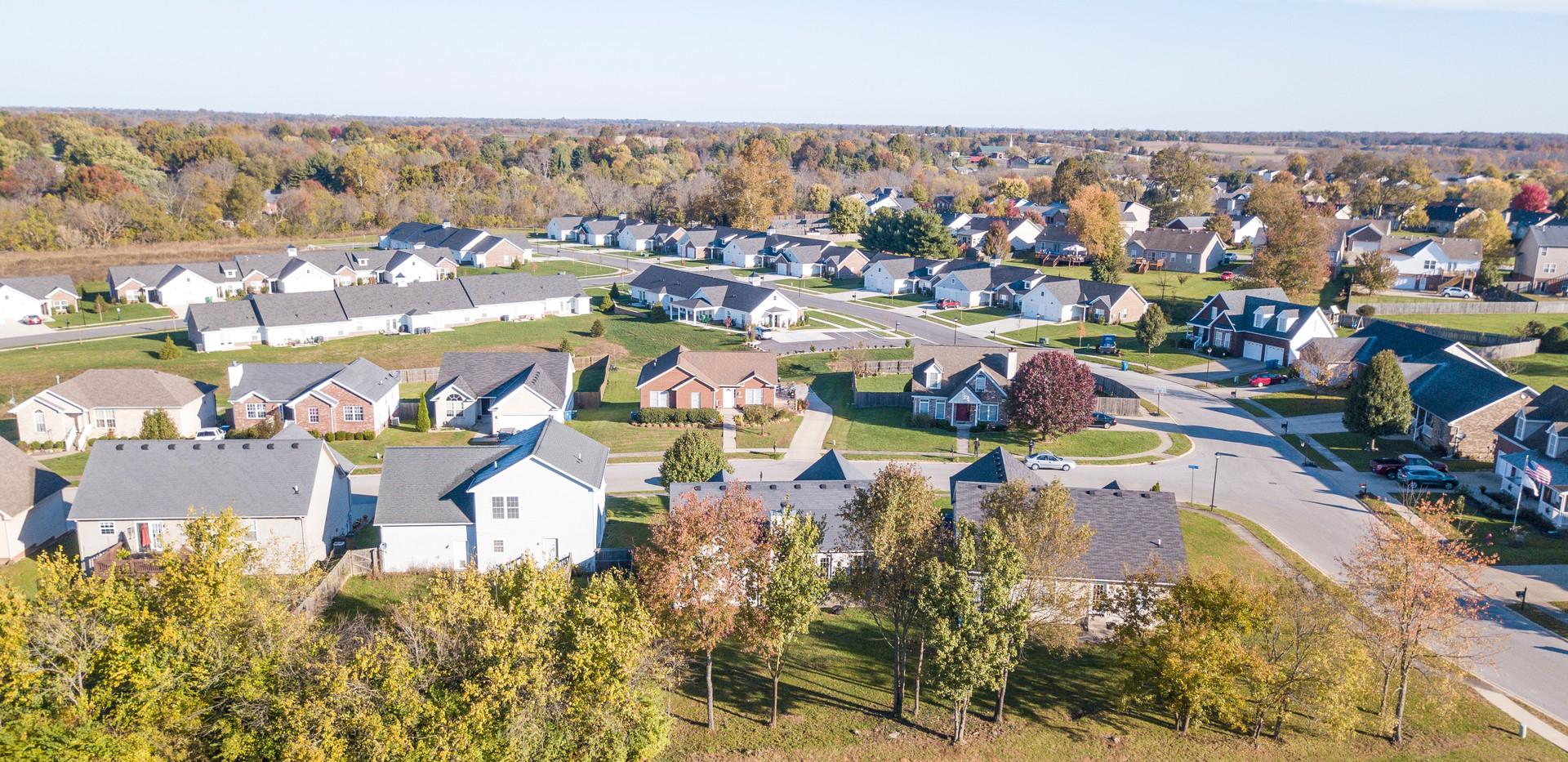 Residential Neighborhood Aerial