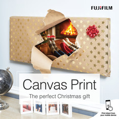 Fujifilm Christmas Canvas Social Media S