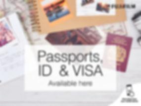 Fujifilm Passport ID & VISA 4-3 Screen (