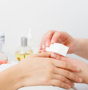 Nail care, beauty wellness spa treatment
