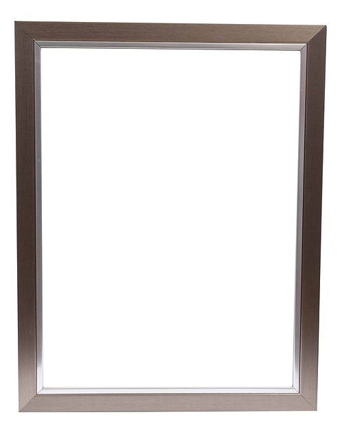 Champagne Silver Frame 1.5 Inch