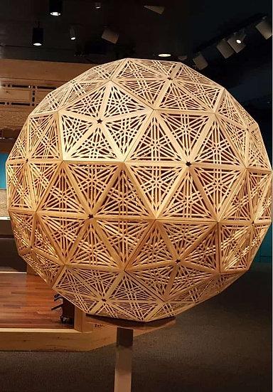 Jali Ball Sculptures