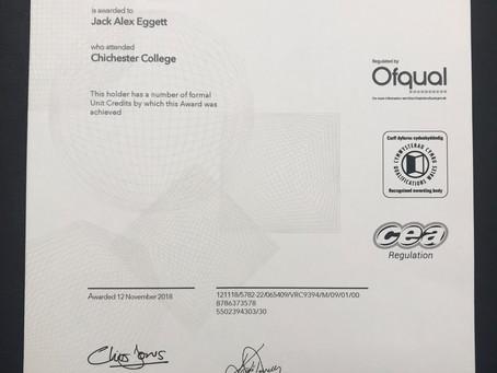 Congrats To Jack!