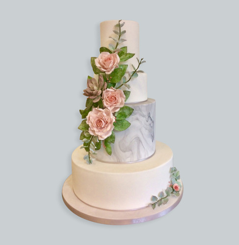 Luxury Bespoke Wedding Cakes Gloucestershire Hs Cake Design