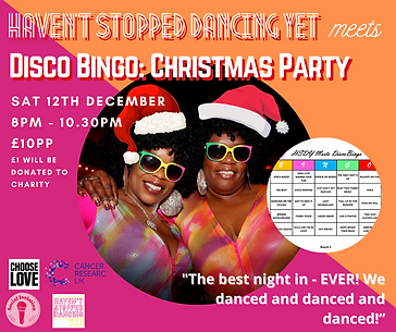 HSDY DISCO BINGO & CHRISTMAS PARTY