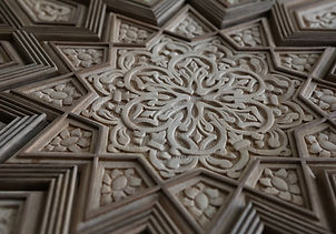 Lazo Studios Carved Door