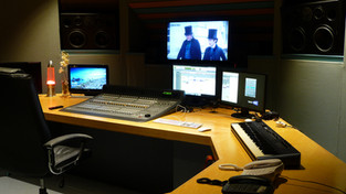 Main studio console