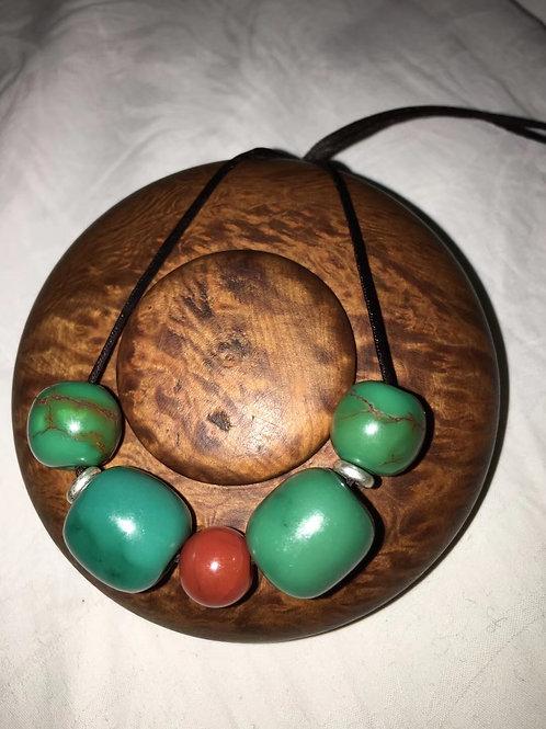 Kallaite Necklace