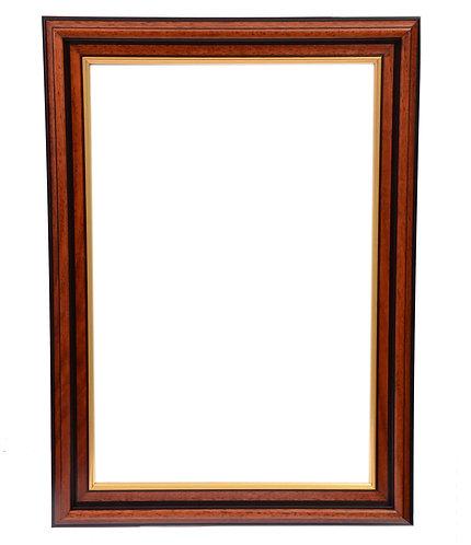 Mahogany Frame  1.5 Inch
