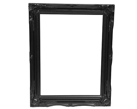 Black Swept Frame