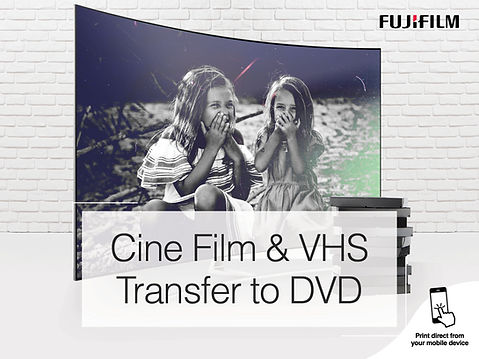 Fujifilm Transfer Cine & VHS 4-3 Screen