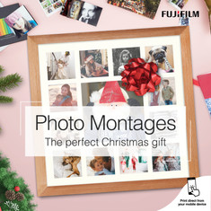 Fujifilm Christmas Photo Montages Social