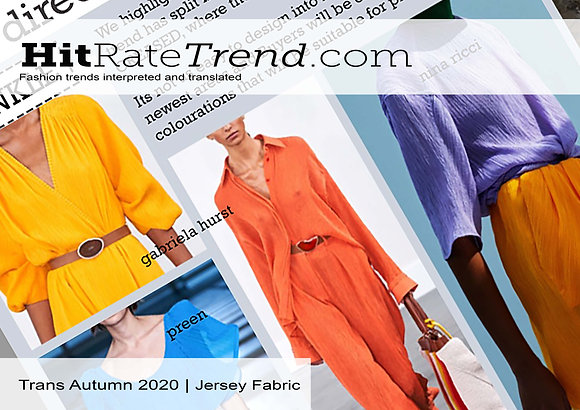 Trans Autumn 2020 - Fabric - Jersey & Sweats
