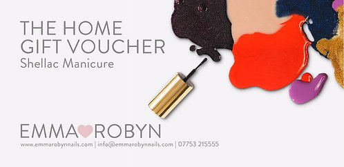 Shellac Manicure @ Home -  Gift Voucher