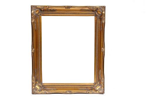 Gold Swept Frame