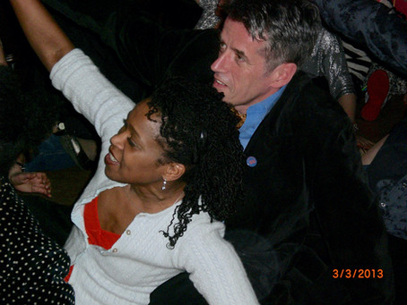Meet the HSDY partygoers:                          Conrad Parke & Andrene Miller