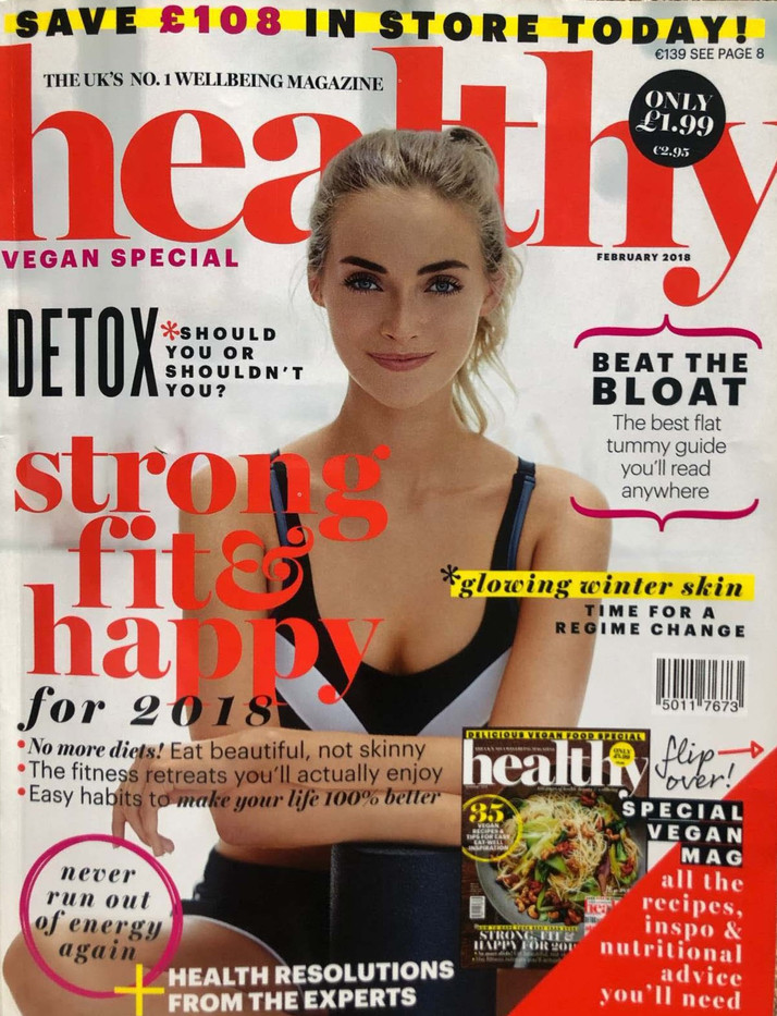 AMY LAMONT HEALTHY MAGAZINE