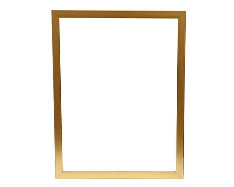 Gold Flat Frame 1 Inch