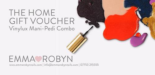 Vinylux Mani-Pedi Combi @ Home -  Gift Voucher