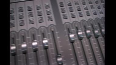 Fly across the sound desk