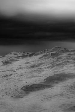 Beauty in the Dark Heaving Sea
