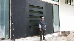 Swivel Steel Door