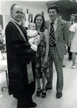 First Baptism at Klein UMC