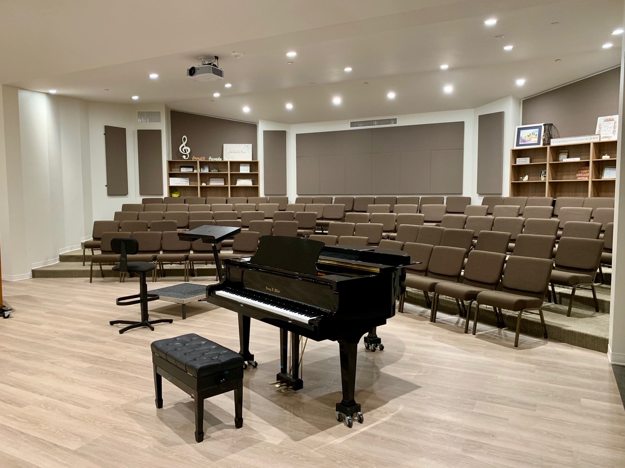 Choir Rehearsal Room