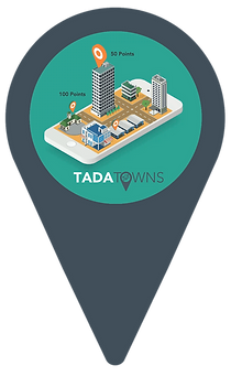 TADA Town Location Pin Graphic (Compress