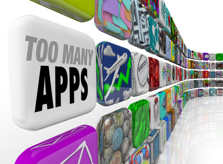 There's a limit to the number of apps people will install on their phones