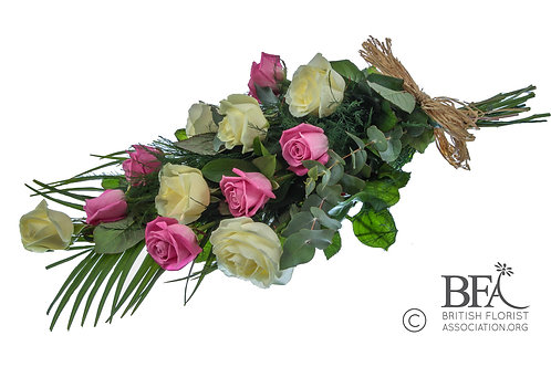 Classic Rose and Eucalyptus Sheaf