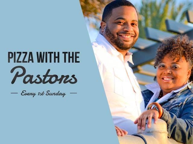Pizza w/ the Pastors