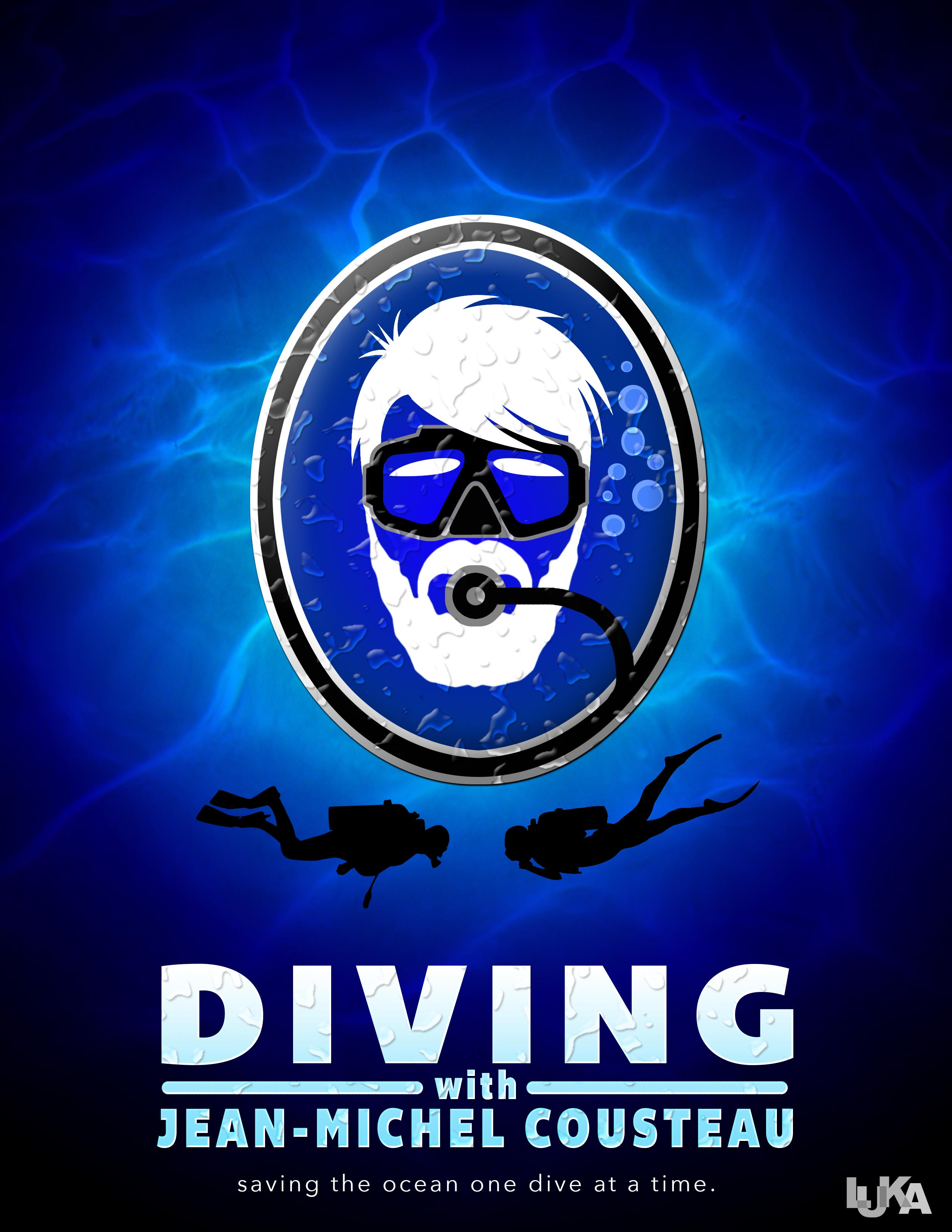 Diving with Jean-Michel Cousteau