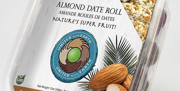 Conventional Almond Date Roll 12oz