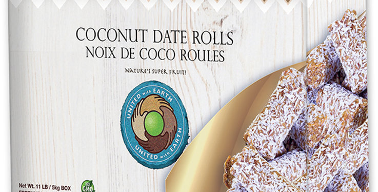 Conventional Coconut Date Roll 11lb.