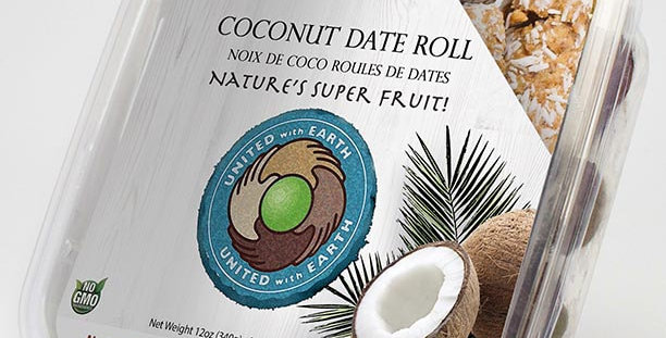 Conventional Coconut Date Roll 12oz