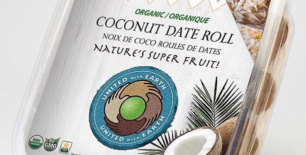 Organic Coconut Date Roll 12oz