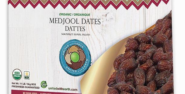 Organic Medjool Dates 11lb Bulk