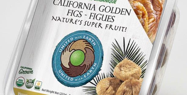Organic Golden California Figs 8oz