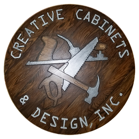 Creative Cabinets and Design Logo