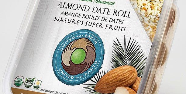 Organic Almond Date Roll 12oz