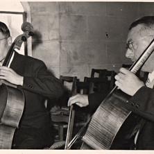 Roger Tessier et son père 1959