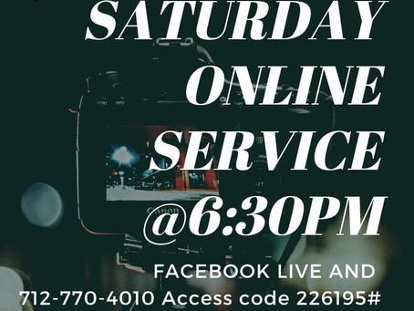 Saturday 05.23.20 livestream