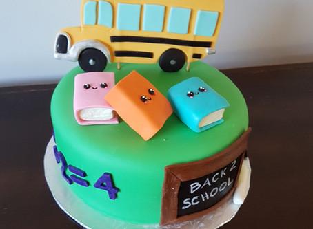 Back to school cake