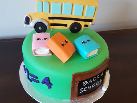 Back to school cake
