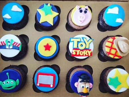 Scoobie Dooand Toy Story customcupcakes