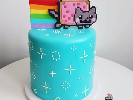 Nayan cat cake