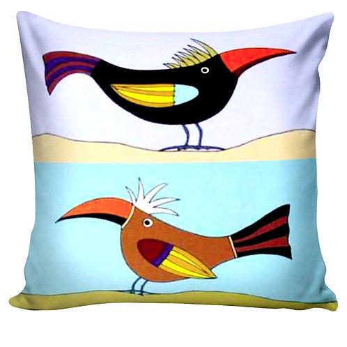 Almofada dos Pássaros